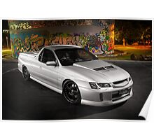George Aspite's VY SS Holden Commodore Poster