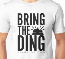 Bring The Ding (Black Text) Unisex T-Shirt