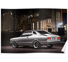 Johnny Marjanovic's Datsun Coupe Poster