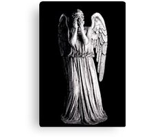 Weeping Angel - Don't Blink Canvas Print