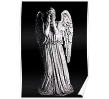 Weeping Angel - Don't Blink Poster