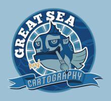 Great Sea Cartography Baby Tee