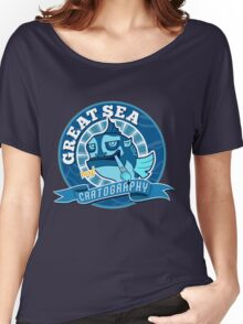 Great Sea Cartography Women's Relaxed Fit T-Shirt