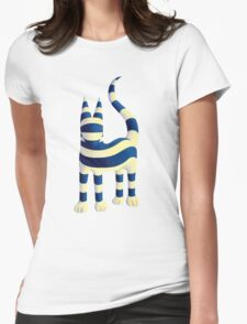 Genetic cat  Womens Fitted T-Shirt