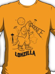 LONZILLA BLACK T-Shirt