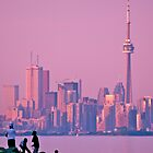 Toronto Skyline at Dusk by Jessica Dzupina