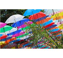Any Umbrellas  ?  ...(altogether now) Photographic Print
