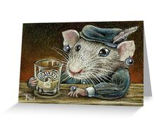 Patricia the rat Greeting Card