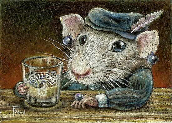 Patricia the rat by tanyabond