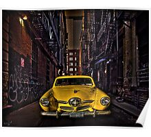 Back Alley Taxicab Poster