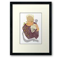 Alas, poor...Hamlet? Framed Print
