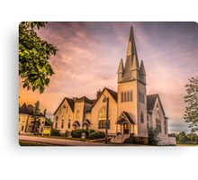 Church in Windsor, Nova Scotia Metal Print