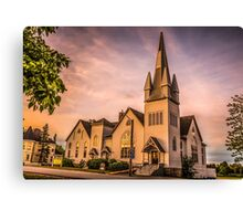 Church in Windsor, Nova Scotia Canvas Print