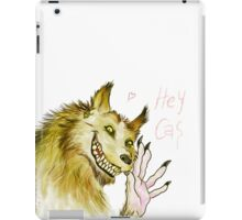 Werewolf!Dean waving iPad Case/Skin