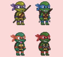 Teenage Mutant Ninja Turtles Pixels One Piece - Long Sleeve