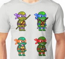 Teenage Mutant Ninja Turtles Pixels Unisex T-Shirt