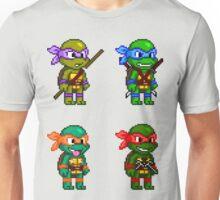 Teenage Mutant Ninja Turtles Pixels Unisex T-Shirt
