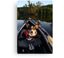 Welcome Aboard! Canvas Print
