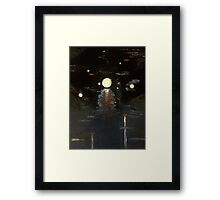 Moon in a Jar Framed Print