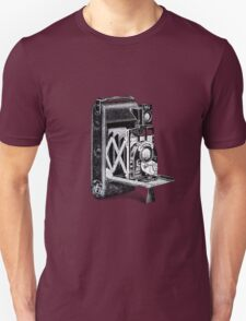 Vintage Camera Line Art Unisex T-Shirt