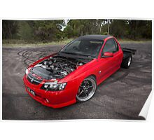 Steve Labroad's Holden VY Commodore Poster