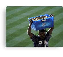 Cold Beer Here Canvas Print