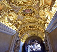 The Golden Staircase, Doges Palace, Venice by artfulvistas