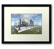 MSTC ( Manipulation of space and time continuum) machine. Framed Print