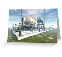 MSTC ( Manipulation of space and time continuum) machine. Greeting Card