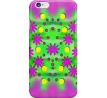 Dots and florals iPhone Case/Skin