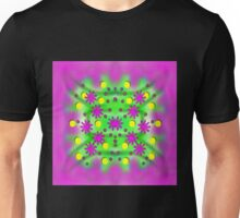 Dots and florals Unisex T-Shirt