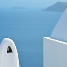 Santorini view by AHigginsPhoto
