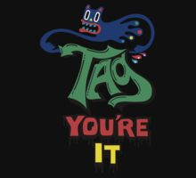 Tag you're it ll - on light colors Kids Clothes
