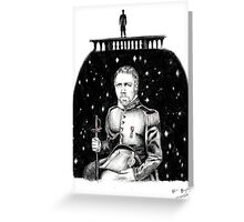 Les Mis Portrait Series: Javert Greeting Card