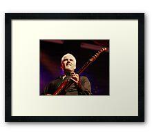 james howard ~ LIVE! Framed Print