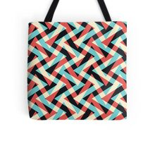 Crazy Retro ZigZag Tote Bag