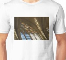 Glorious, Colorful Sunlight - Stained Glass Church Windows in a Royal Chapel in Paris, France Unisex T-Shirt