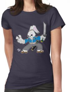 Toon Usagi Womens Fitted T-Shirt