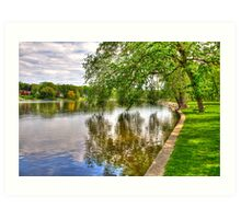 Rock River Art Print