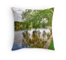 Rock River Throw Pillow