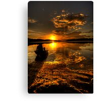 Light Tackle - Narrabeen Lakes , Sydney - The HDR Experience Canvas Print