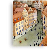 Dr. Yorkshire and Penny Canvas Print