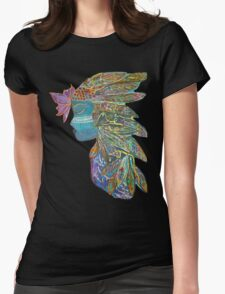 Spiritual Warrior Womens Fitted T-Shirt