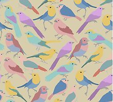 The Bird is the Word (pattern) by gpop