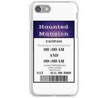 Mansion Fastpass iPhone Case/Skin