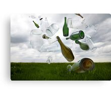 Glass Recycling Canvas Print