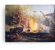 The Real History Canvas Print