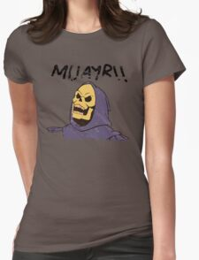 MUAYR!! - Skeletor  Womens Fitted T-Shirt