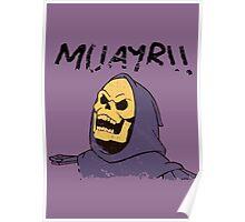 MUAYR!! - Skeletor  Poster