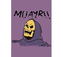 MUAYR!! - Skeletor  Photographic Print